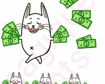 pay day clipart pay day stickers kawaii planner by Magiqueprints.