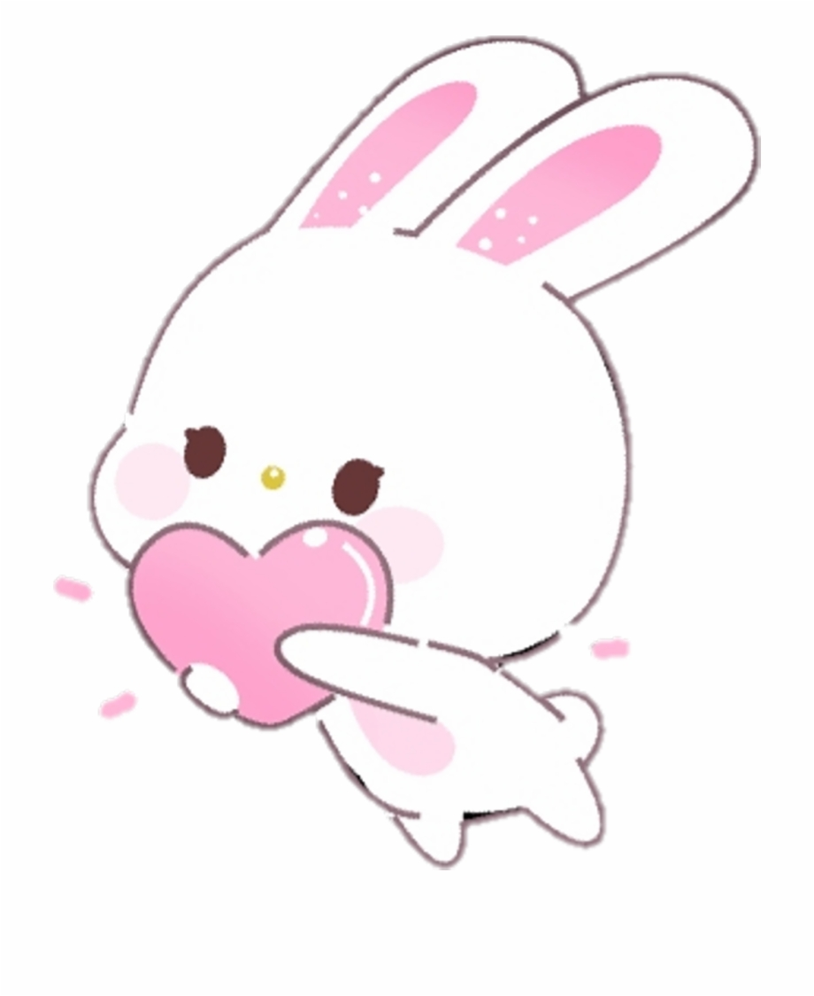 Kawaii Bunny Download Free Clipart With A Transparent.
