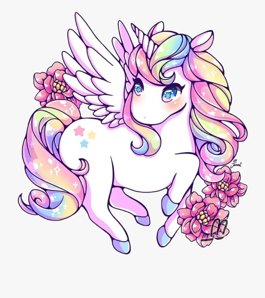 unicorn #rainbow #rainbowunicorn #kawaii #cute.