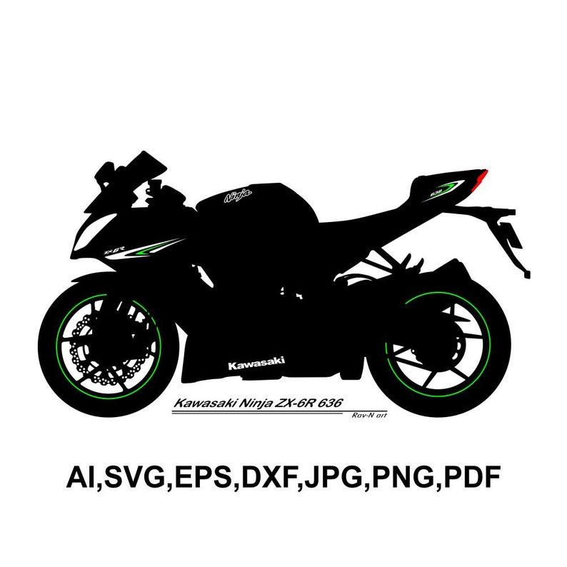 Kawasaki Ninja ZX 6R 636.