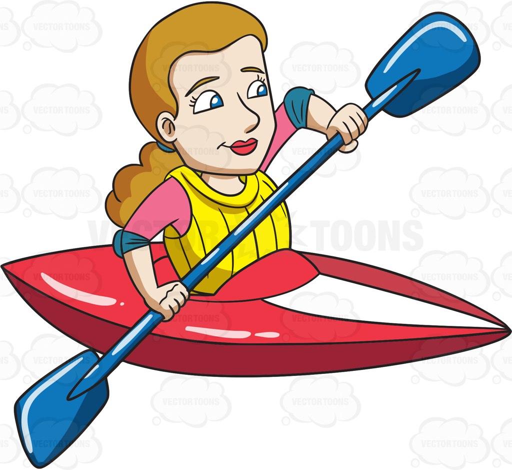 Kayak Clipart Free.