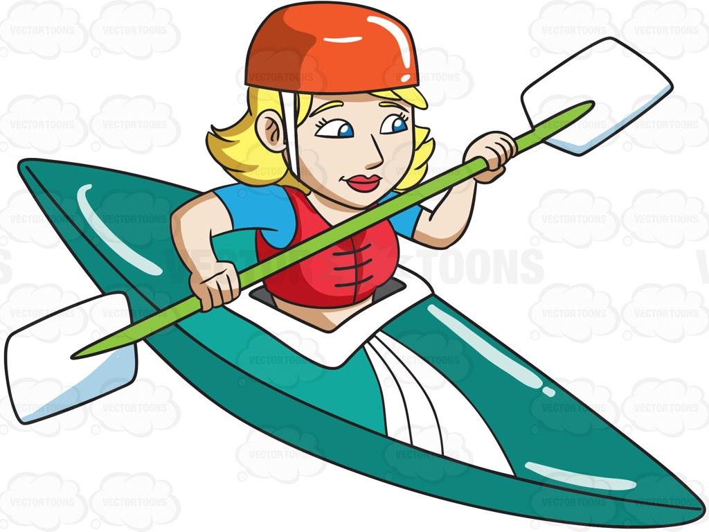 Kayak Clipart.
