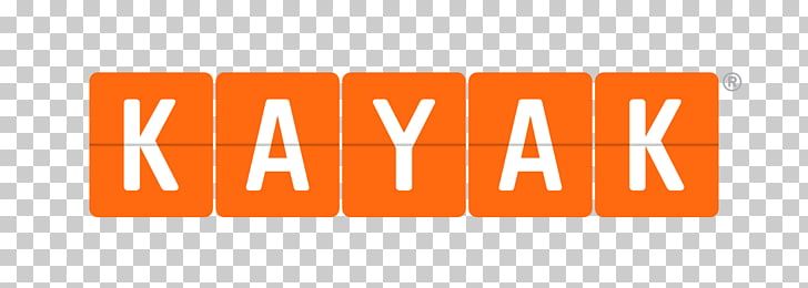 Kayak Logo, orange and white Kayak logo PNG clipart.