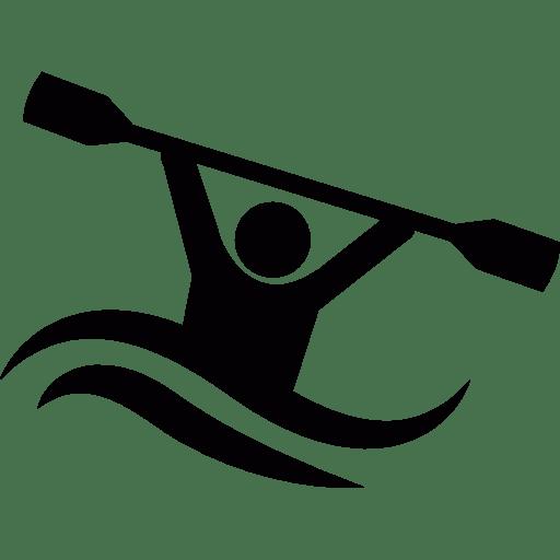 Kayak Icon transparent PNG.