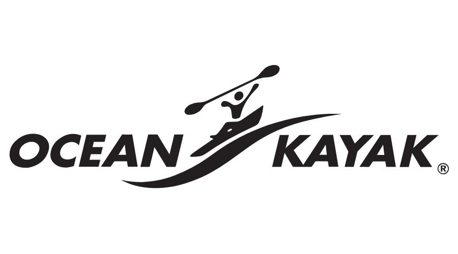Ocean Kayak Vector Logo.