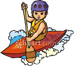 Kayaking clip art.