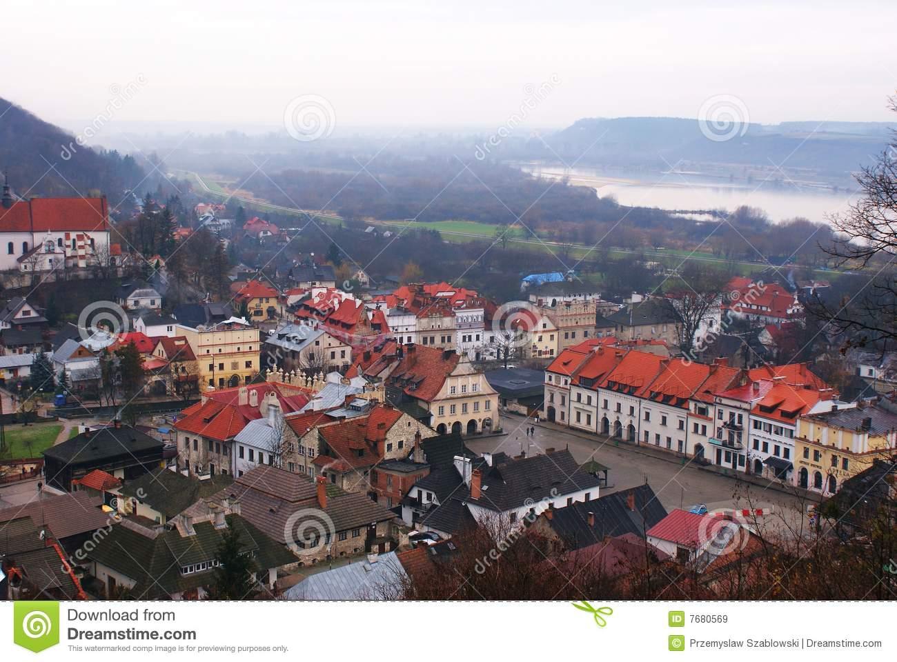 Kazimierz Dolny Royalty Free Stock Images.