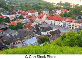 Picture of Kazimierz Dolny, Poland.