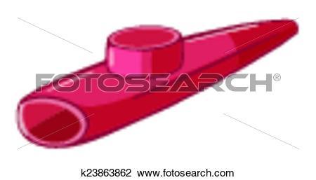 Clipart of Kazoo k23863862.