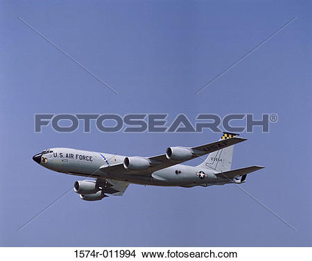 Stock Photo of U.S. Air Force Boeing KC.