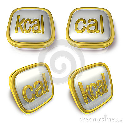 Kcal Stock Illustrations.