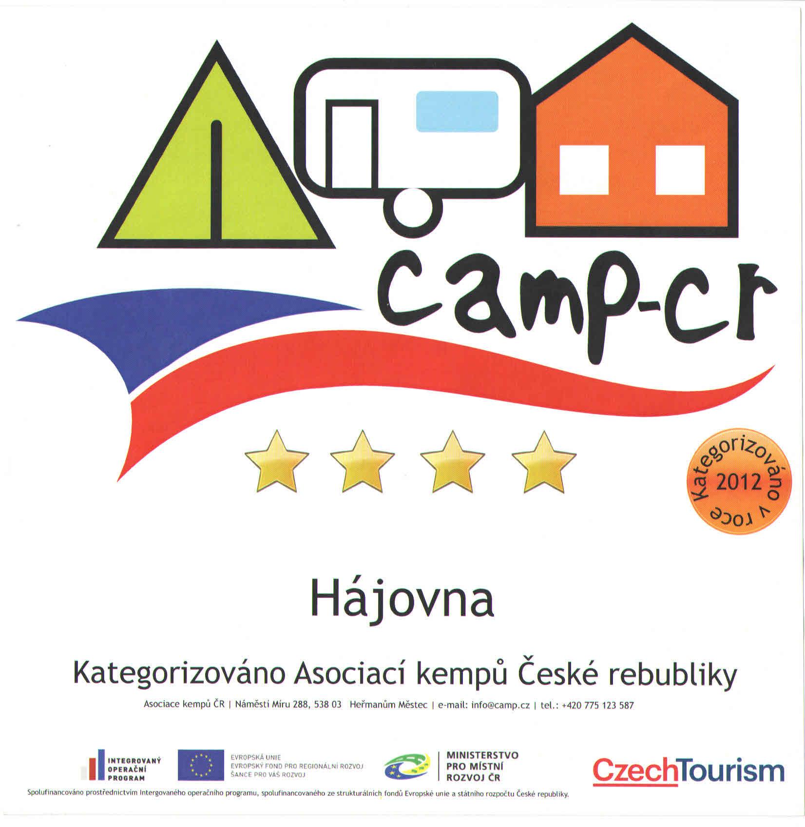 Caravan Site Hajovna Kdyne.