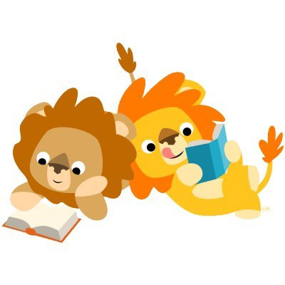 Lions Reading — Keck Memorial Library.