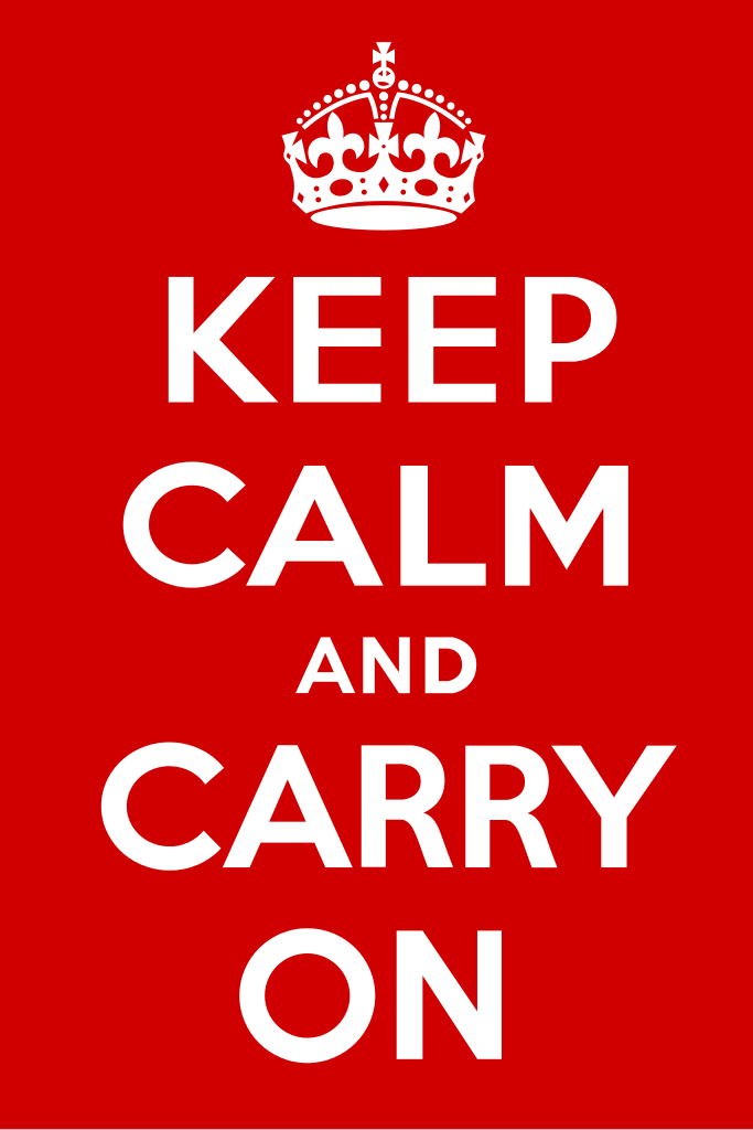 File:Keep Calm and Carry On Poster.svg.