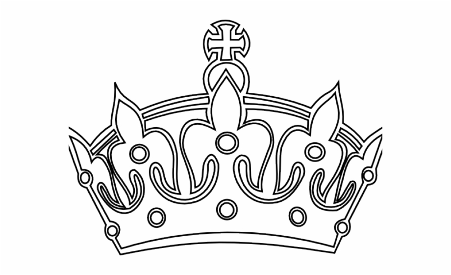 Drawn Crown Transparent Background.