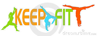 Clipart keep fit.