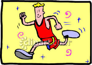 Free keep fit clipart.
