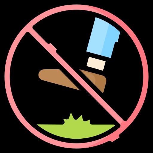 Keep off the grass.