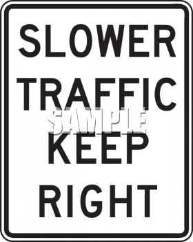 Royalty Free Clipart Image: Road Signs.