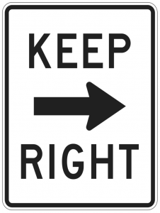 Keep Right Clip Art Download.