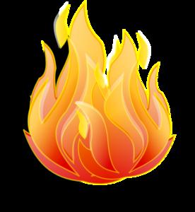 Burning platform clipart.