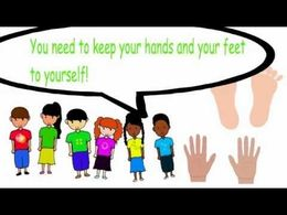 Download keeping my hands and feet to myself clipart Keep Your Hands.