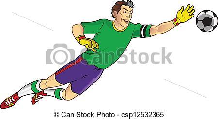 Goal keeper Stock Illustrations. 1,375 Goal keeper clip art images.
