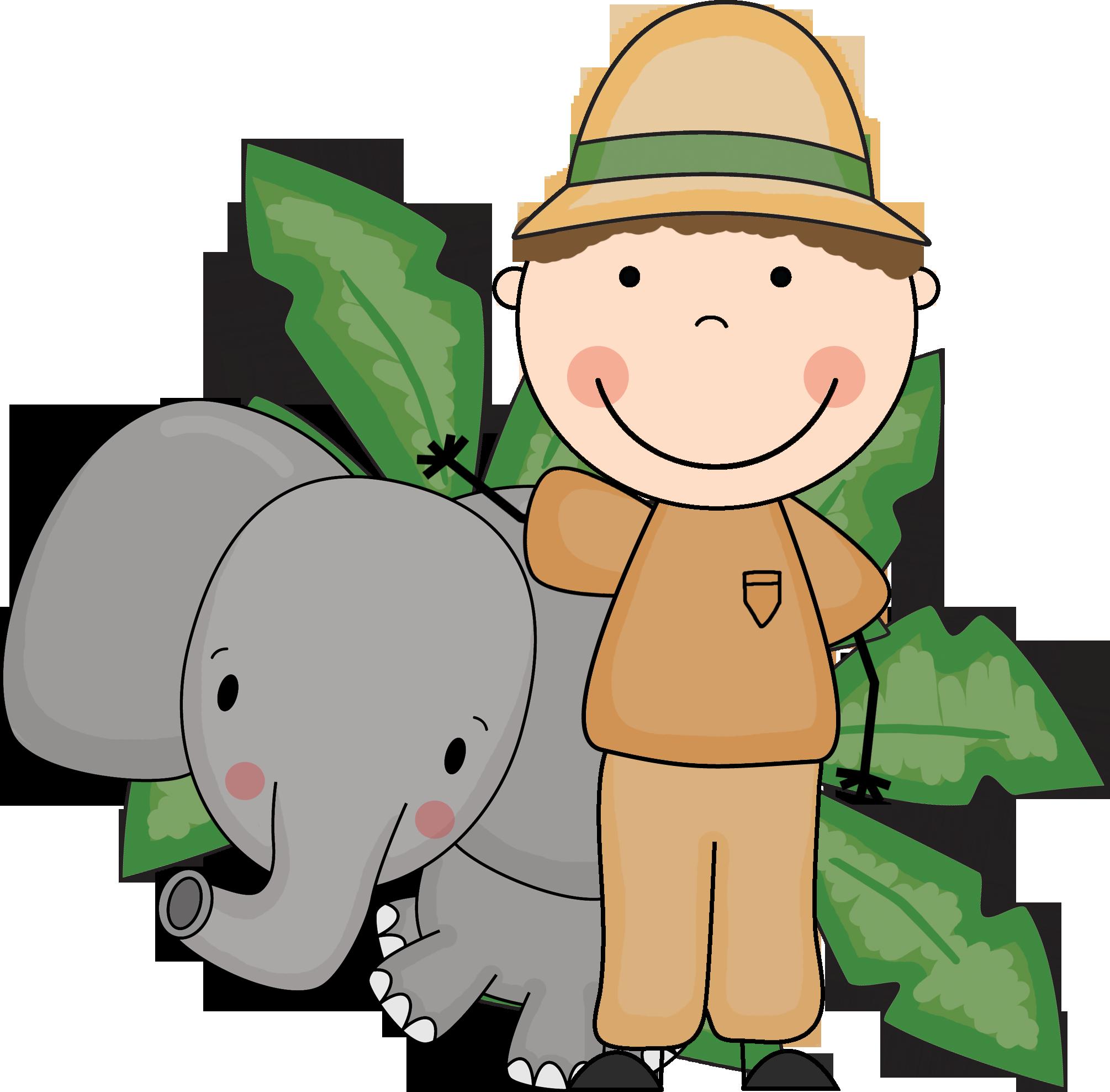 Zoo Keeper Clipart.