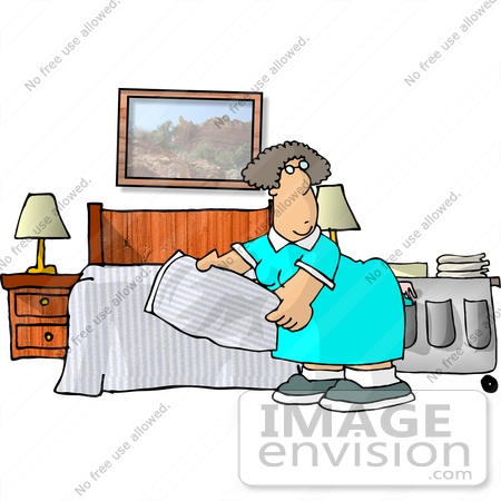 Clipart for house keeping job.