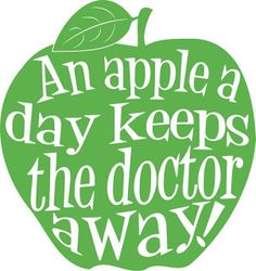 Apple day clipart.