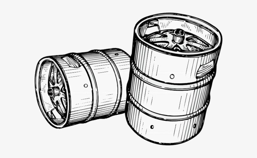 Beer Kegs Clipart.