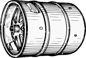 Beer keg clip art.
