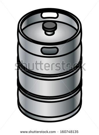 Metal Beer Keg Stock Photos, Royalty.