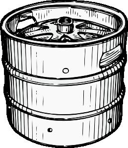 Beer Keg Clip Art at Clker.com.