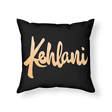 Amazon.com: LVTIAN Kehlani Logo Standard Throw Pillowcase.