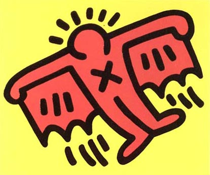 Keith haring clipart.