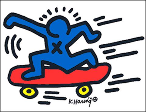 3a Keith Haring.