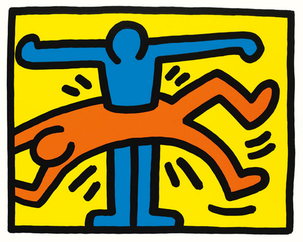 Pop Shop VI by Keith Haring.