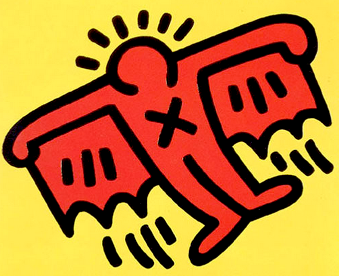 Keith Haring Icons.
