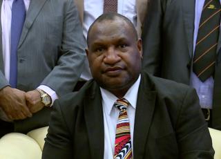New prime minister Marape installed in Papua New Guinea.