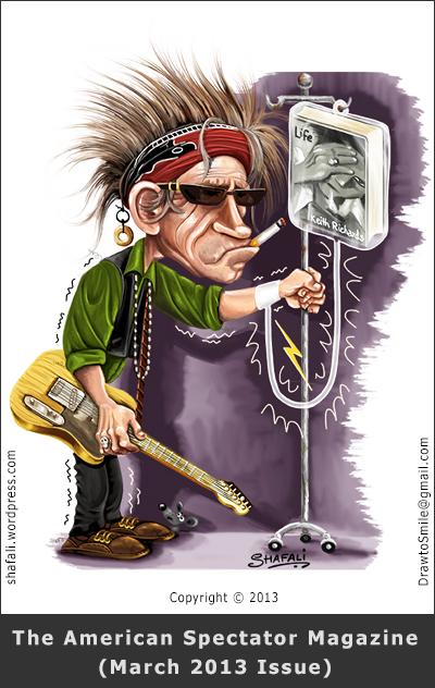 Keith Richards Birthday Clip Art.