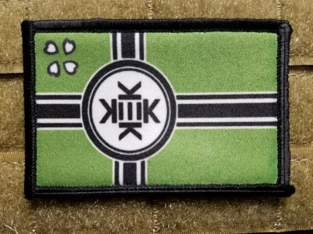 Kekistan Tactical Hook Backed Morale Patch Lord KEK Patriot Trump Republican.