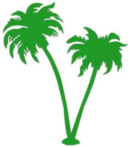Gambar Pohon Kelapa Clip Art.