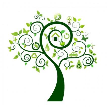 Vector Pohon Kelapa.
