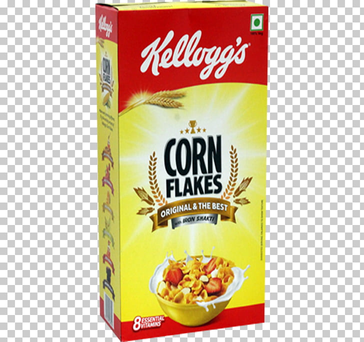 Corn flakes Breakfast cereal Milk Kellogg\'s Chocos, milk PNG.