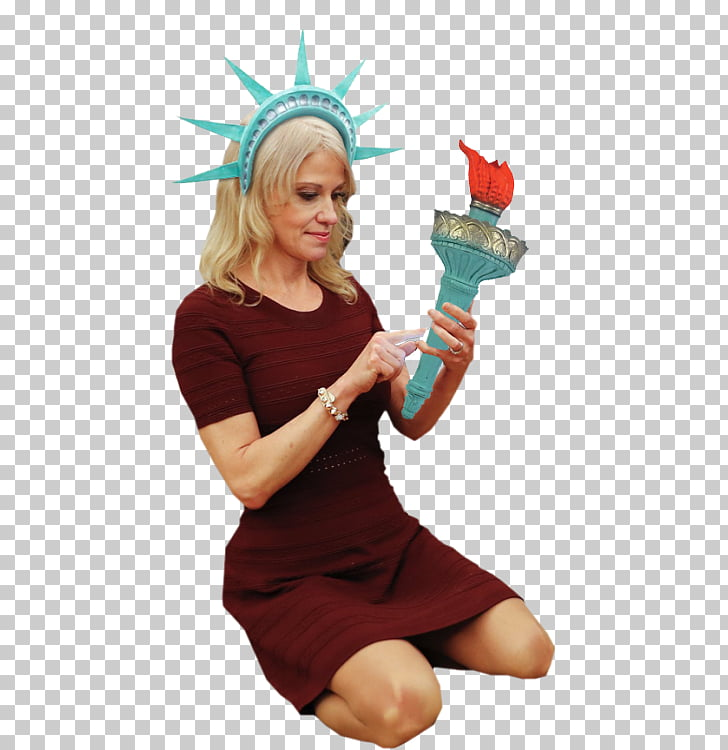 Halloween costume Kellyanne Conway White House , why is lady.