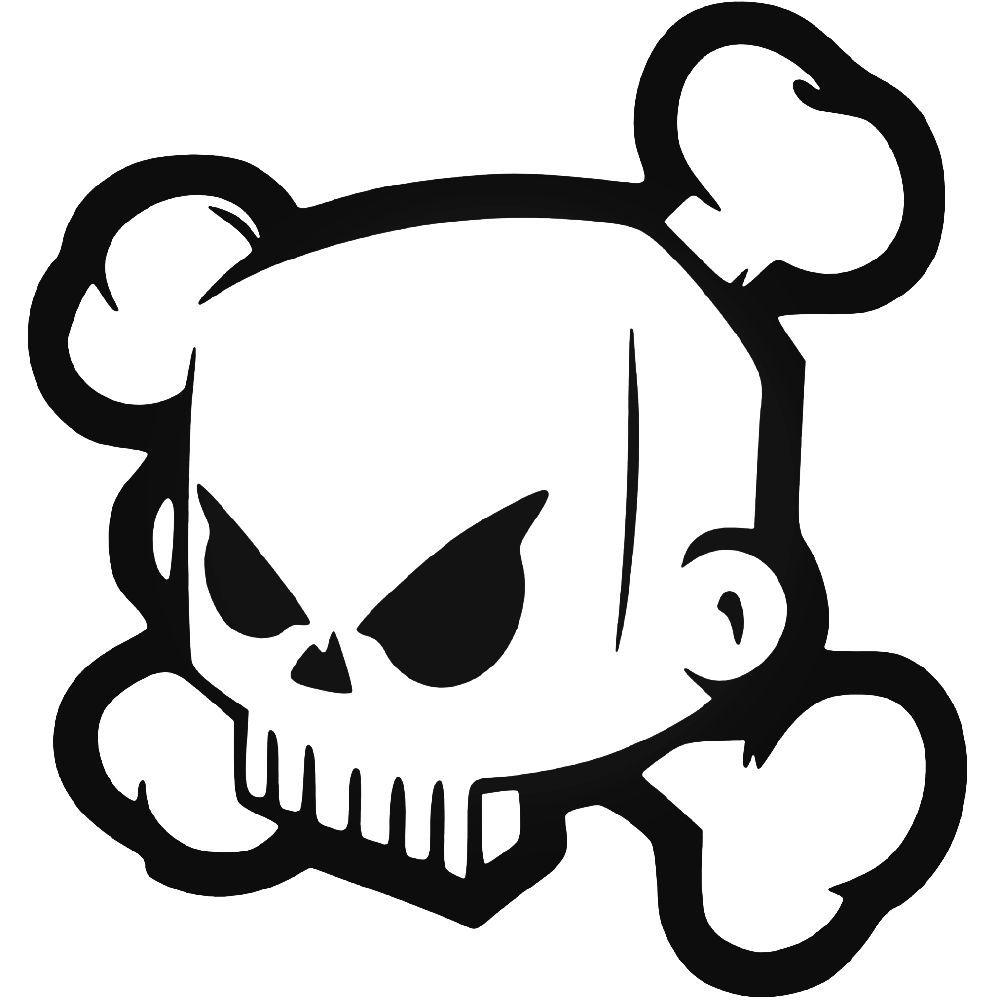Ken Block Hoonigan Skull Vinyl Decal Sticker BallzBeatz.