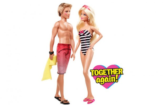 Barbie and ken clipart image #18390.