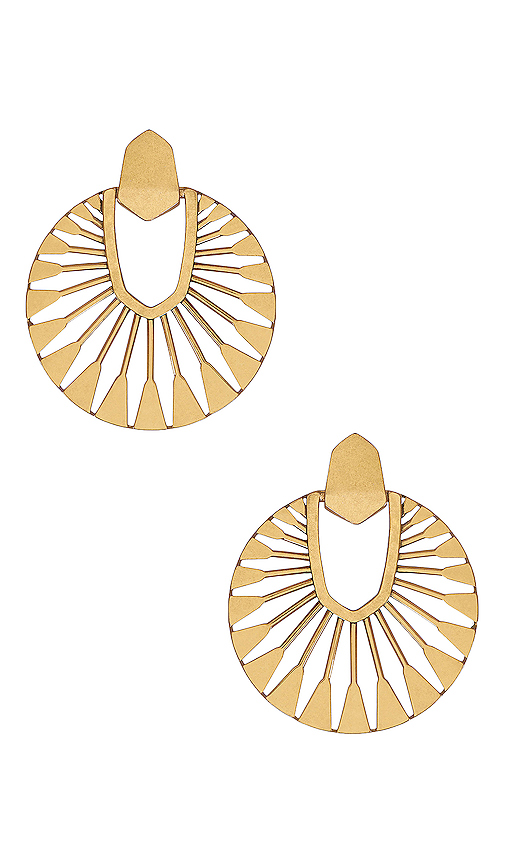 Didi Sunburst Drop Earrings.