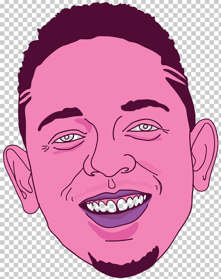 Kendrick Lamar Eye Cheek Head PNG, Clipart, Art, Cartoon.